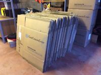 Free: Cardboard packing boxes - 60 flatpack, used once