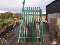 Paleslide heavy duty gate
