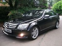 08 MERCEDES C200 CDI SPORT MANUAL 6 SPEED *1 OWNER FROM NEW* CHEAP TAX LIKE 320D AUDI A4 A3 520D A6