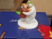 The Special Moment Snowman Figure