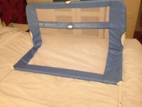Lindam blue bed guard collection only £5