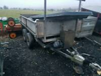 Ifor williams 8x5 tipping trailer needs a few bits done