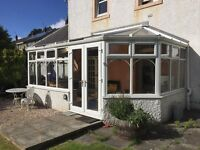 Conservatory in UPVC for sale