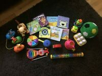 Young toddler bundle of toys & books