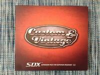 Toontrack Custom & Vintage SDX GENUINE Software