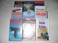 VHF VIDEOS ALL ASSOCIATED WITH AIRCRAFT