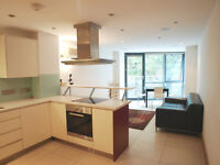 Lovely Stunning Modern 2 Bedroom Flat with Open Plan 1 minute walk to Camden Town tube station