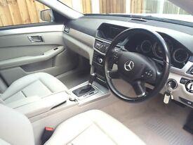 2009 Mercedes Benz E Class 2.1 E250 CDI Automatic Blue EFFICIENCY SE 4dr, Diesel , Silver
