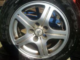 toyota avensis alloys wheels