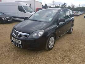Vauxhall zafira1.7 ECC