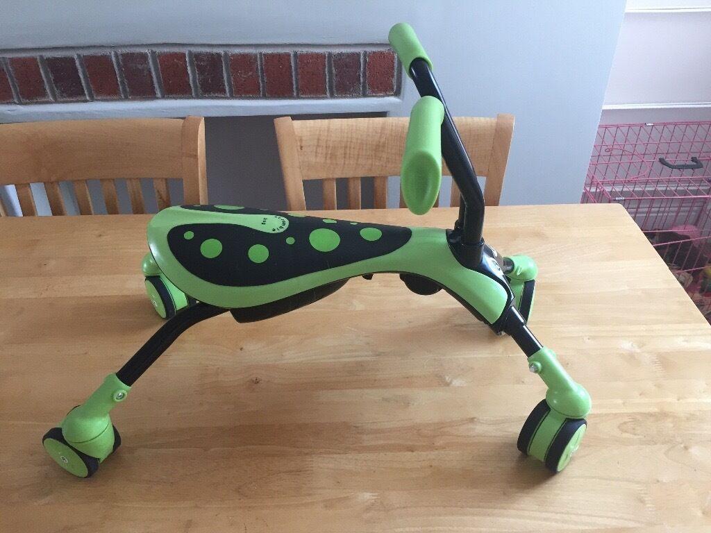 scramble bug (green)