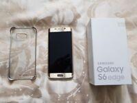 Samsung Galaxy S6 Edge 32GB Gold Platinum Unlocked in excellent condition in box