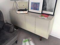 Side Unit - Ikea - beige tv unit living room bedroom furniture