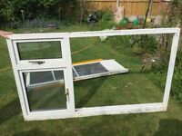 Used double glazed window suitable for garage or shed
