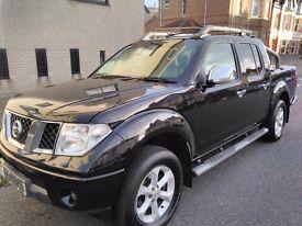 Nissan Navara Aventura Black 08 2.5dci 78k Great Extras