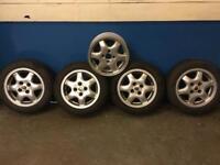 Rover Metro/100 genuine alloy wheels