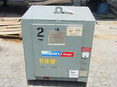 Hobart 24 Volt Forklift Battery Charger