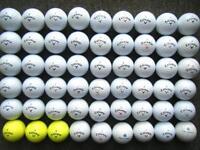 54 Callaway golf balls in excellent condition, CXR power/control, warbird, itour