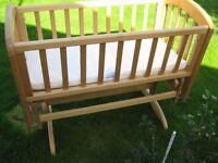 John Lewis Rocking Baby crib