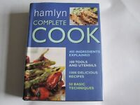 HAMLYN COMPLETE COOKBOOK - 1000 RECIPES, 50 TECHNIQUES, 400 INGREDIENTS EXPLAINED 606 PAGES