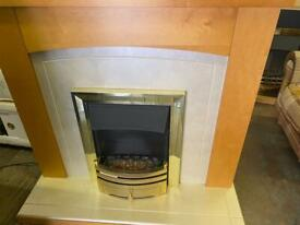 ELECTRIC FIRE 🔥 WITH FULL SURROUND IN EXCELLENT CONDITION