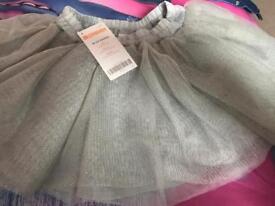 Grey sparkle tutu