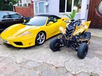 2007 Yamaha Raptor 700 R Special Edition Gold Customised Road Legal ATV (not off road quad bike)