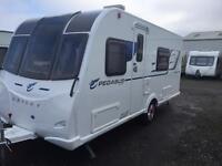 2017 bailey pegasus modena touring caravan fixed bed