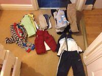 Bundle of 12-18 months boys clothes