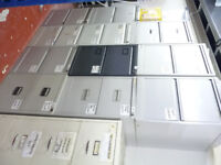 2 Drawer Metal Filing Storage Cabinet For Office Home Workshop Repair Centre