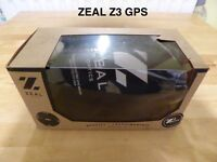 ZEAL Z3 GPS Ski Snowboarding Winter Sports Goggles boxed and complete kit new with tags