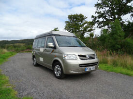 2006 Auto-Sleepers Trooper VW T5. 67K only. MOT Mar 19. Service history Very good example.
