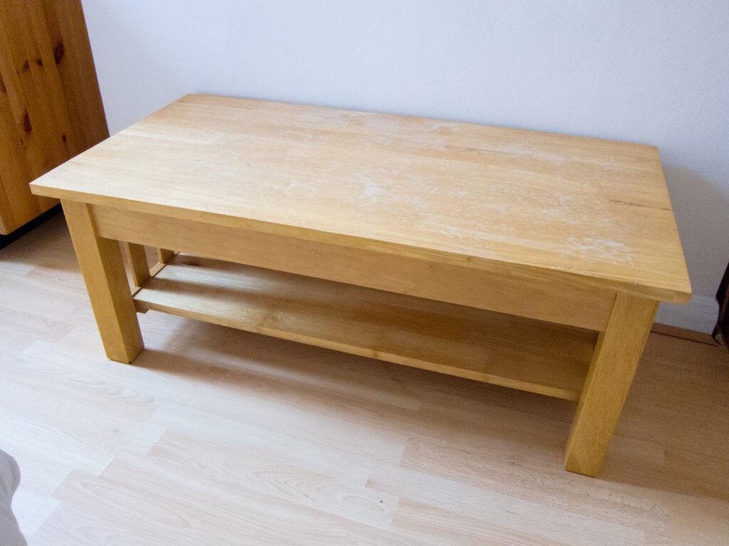 Rubberwood Coffee Table.John Lewis Coffee Table Hardwood Indian Rubberwood In Bournemouth Dorset Gumtree