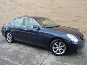2005 Infiniti G35X All Wheel Drive! WOW!! Only 137000 Km!!