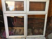 4 panel Double glaze window with complete glass and fittings for sale