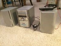 sharp hifi and speakers