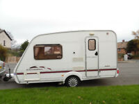 2003 SWIFT CHARISMA 220 2 BERTH TOURING CARAVAN CHRIS/DAMP CHECKED **EXCELLENT**