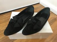 Russell Bromley suede shoes 5uk boxed