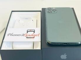 Apple IPhone 11 Pro Max 64gb Midnight Green Unlocked ( Immaculate Condition)