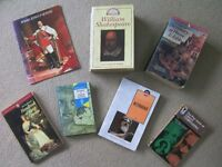 Job lot 7Books Kings Queens Shakespeare Wordsworth Phrase Fable, Kings Queens 2 Mythology, Composers