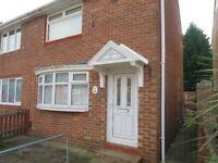 Newly refurbished 2 Bed Semi Detached House, Rangoon Road, Redhouse, Sunderland, SR5 5HD