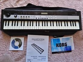 KORG microSTATION 61-Mini-Key Synthesizer WORKSTATION