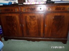 brown side board