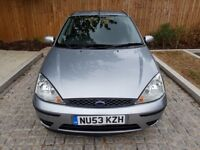 Ford Focus 2003 1.6 i 16v LX 5dr in Silver