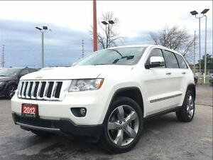 2012 Jeep Grand Cherokee OVERLAND**LEATHER**NAV**SUNROOF**AIR SU