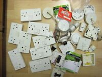 Job lot Electrical Sockets Switches Boxes Light Fixings MK Crabtree Bundle