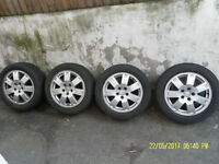 "FORD TRANSIT/CONNECT 17"" ALLOY WHEELS."