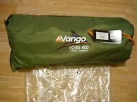 Vango Loire Tent Enclosed Front Extension. Green BNWT