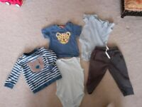 Baby Boy Clothes Bundle 9-12 Months (John Lewis, TU, M&S)