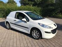 2008 Peugeot 207 1.4 HDi 70 Panel Van 3dr FULL SERVICE HISTORY, LONG MOT, NO VAT
